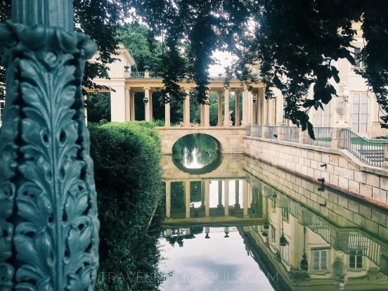 giardino lazienki varsavia