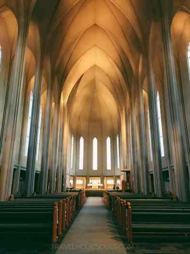 interno chiesa di hallgrim