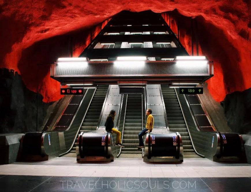 metropolitana stoccolma svezia
