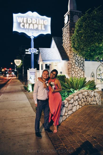 our crazy wedding in vegas
