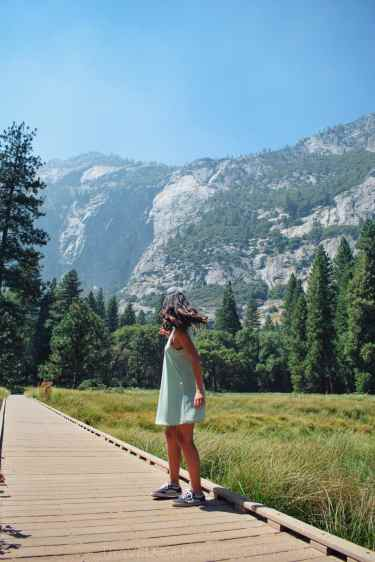 visiting yosemite park in one day