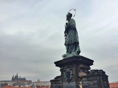 statue ornamentali ponte Carlo praga