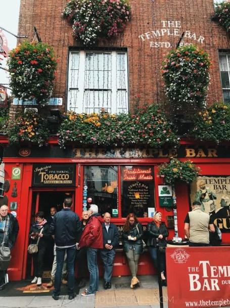Cosa vedere a Dublino: Temple Bar