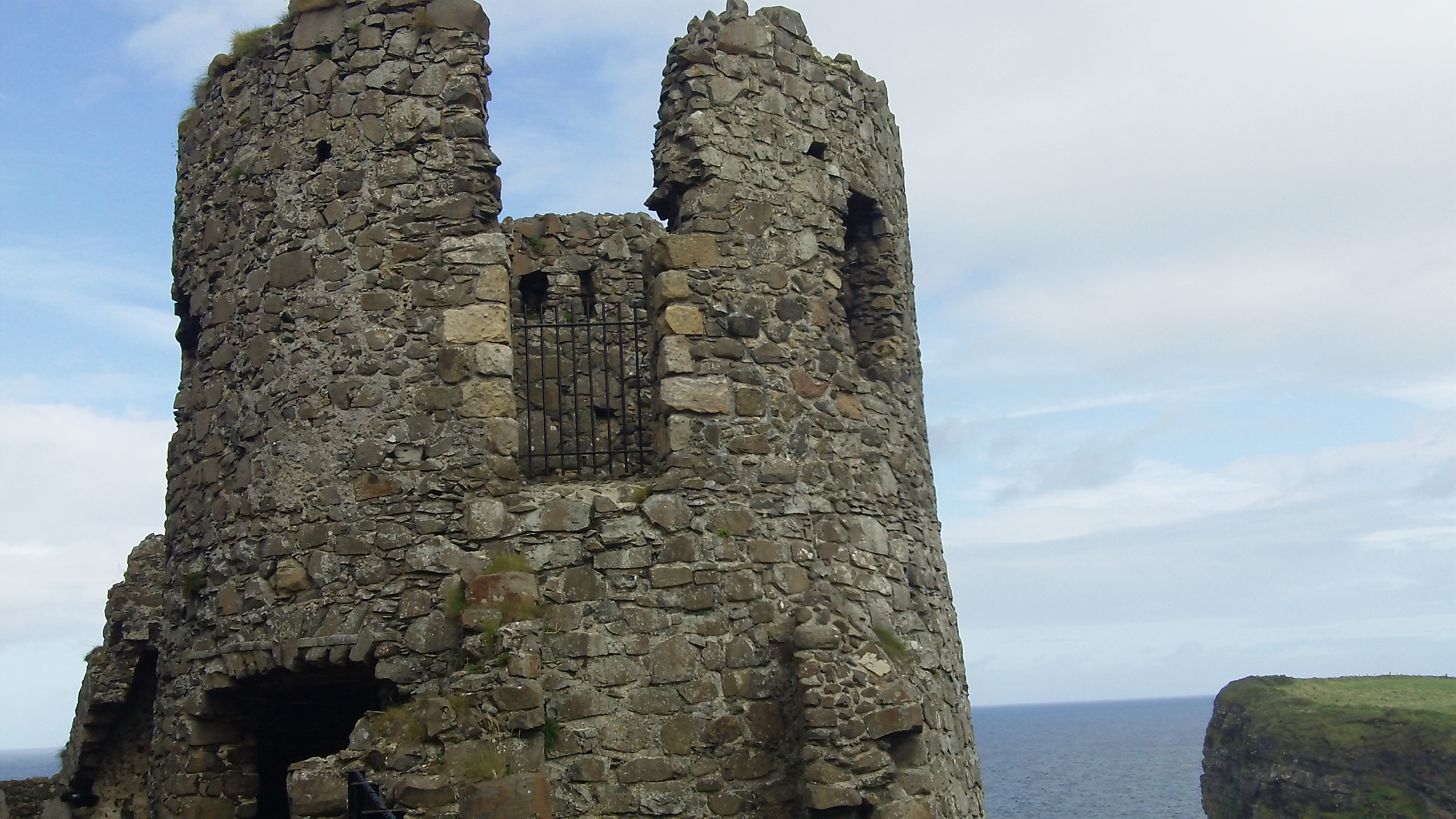 The History of Dunluce Castle  Travelling hummingbirds