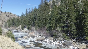 The Cache La Poudre River