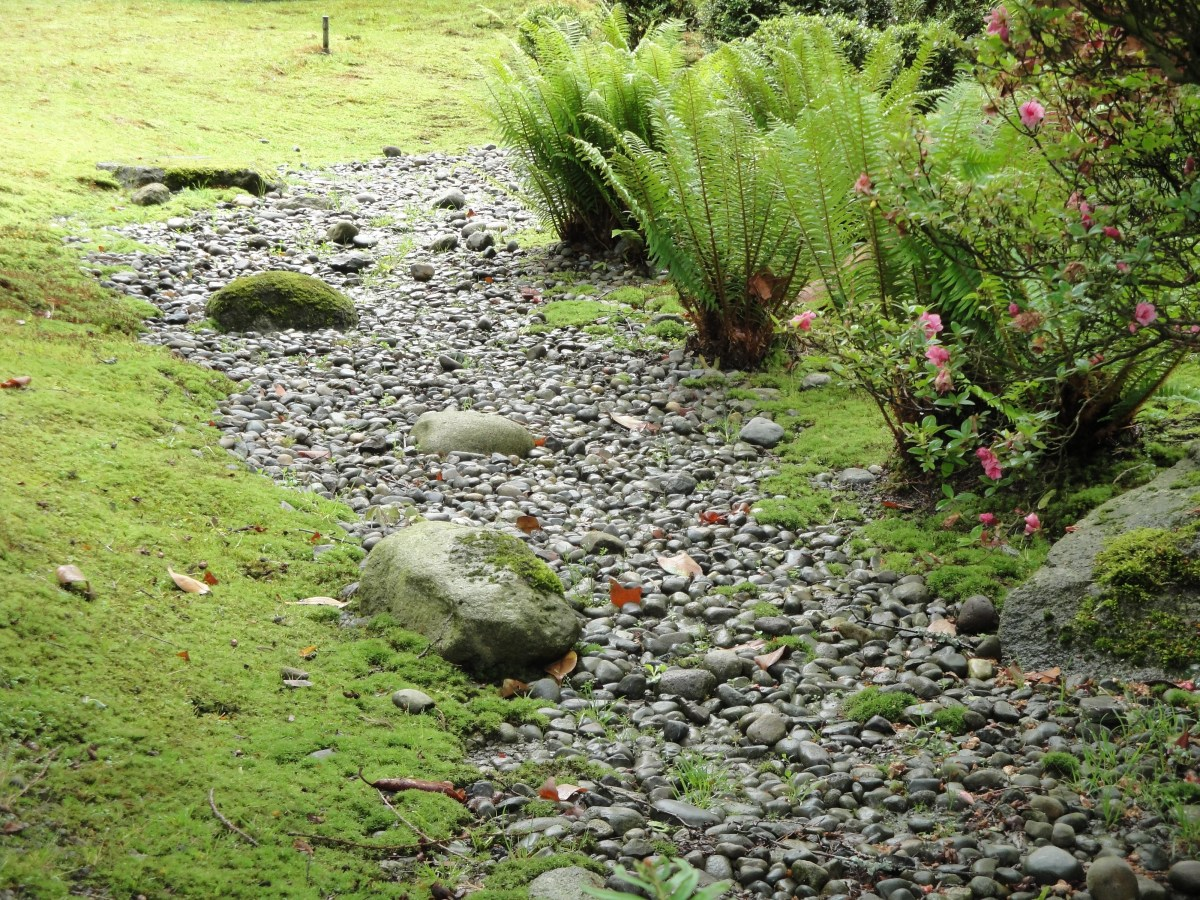 dry river beds japanese design