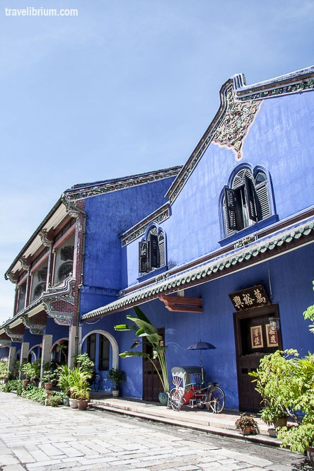 Cheong Fatt Tze Mansion, Blue Mansion