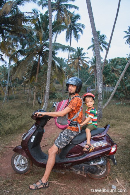 scooter in varkala