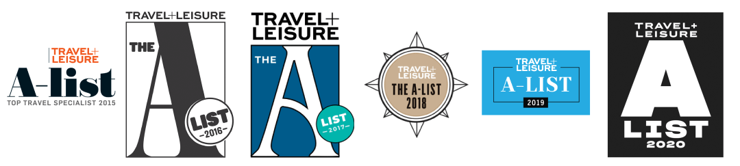 travel and leisure a-list logos