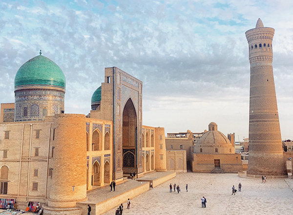 מסגד בוכרה אוזבקיסטן