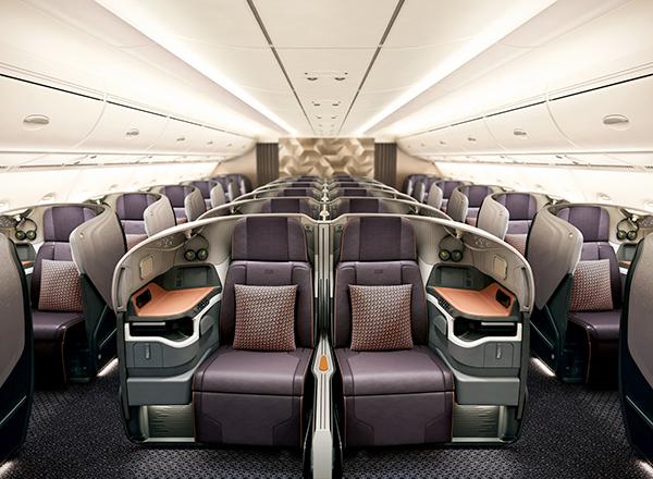 פנים מטוס עסקים פרטי