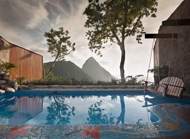 Mountaintop pool villa St Lucia