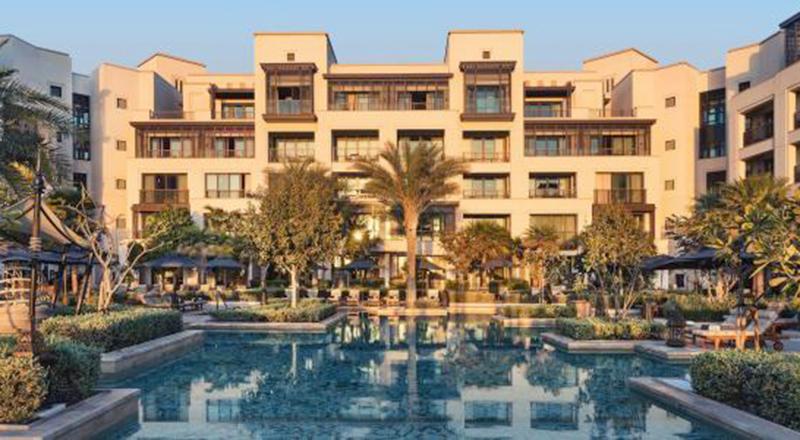 Jumeirah al Naseem hotel exterior, UAE