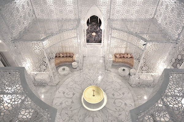Spa at Royal Monsour hotel Morocco