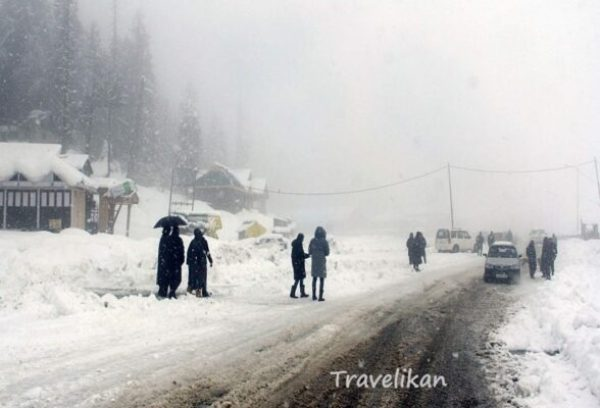 kokernag - most coldest place in India right now