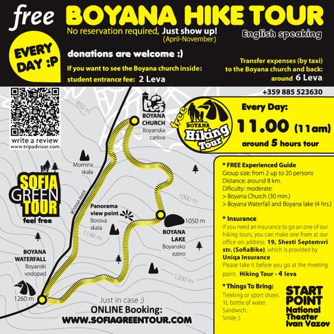 Free Hike Tour, Sofia
