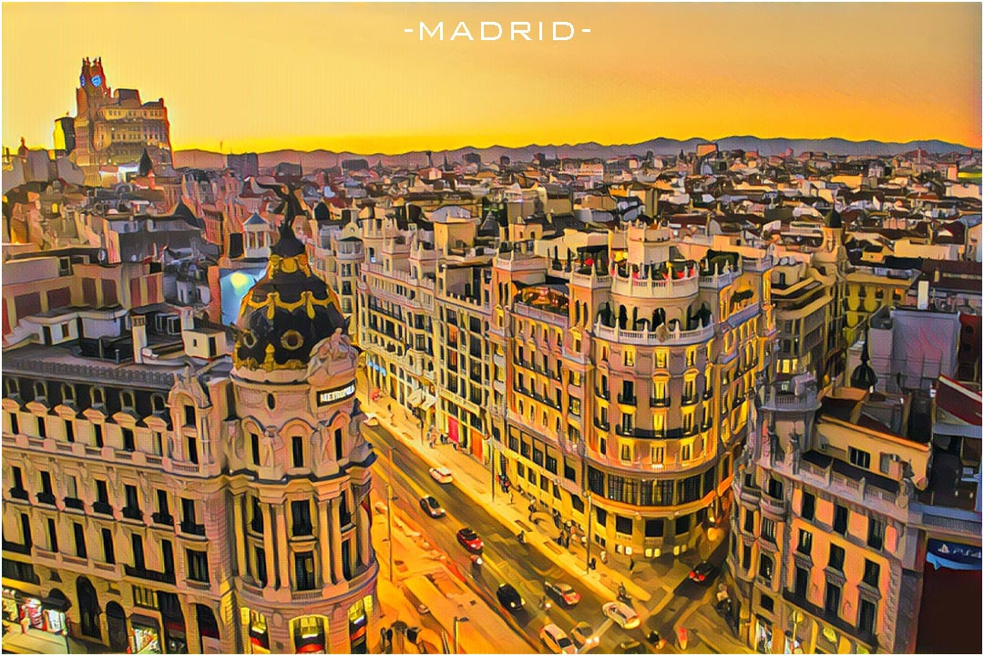 Weekend Flights to Madrid