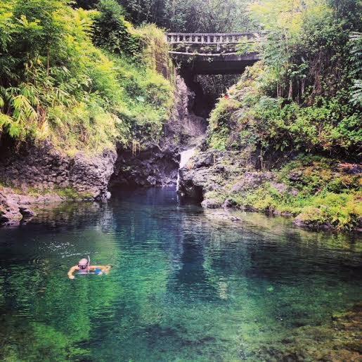 Ching's Pond road to hana