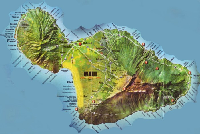 where to live in maui