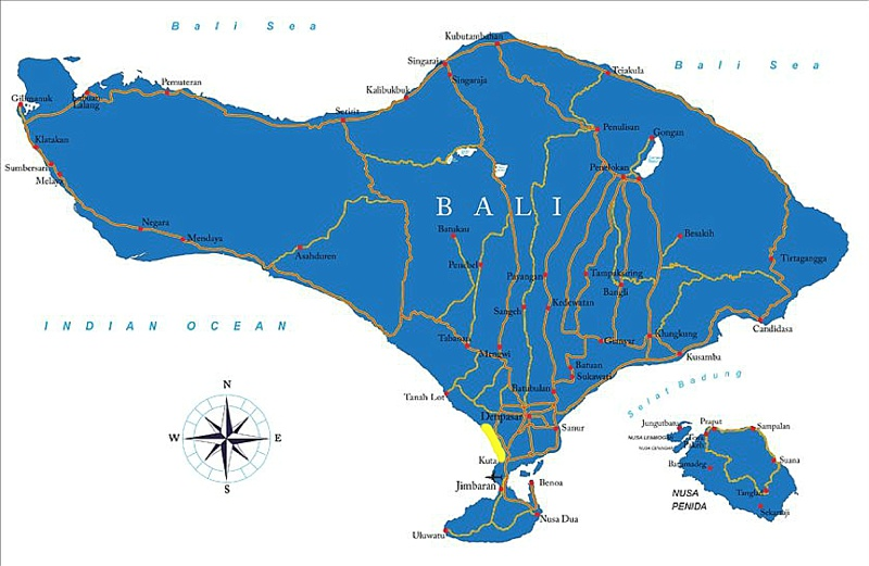 best areas to live in bali