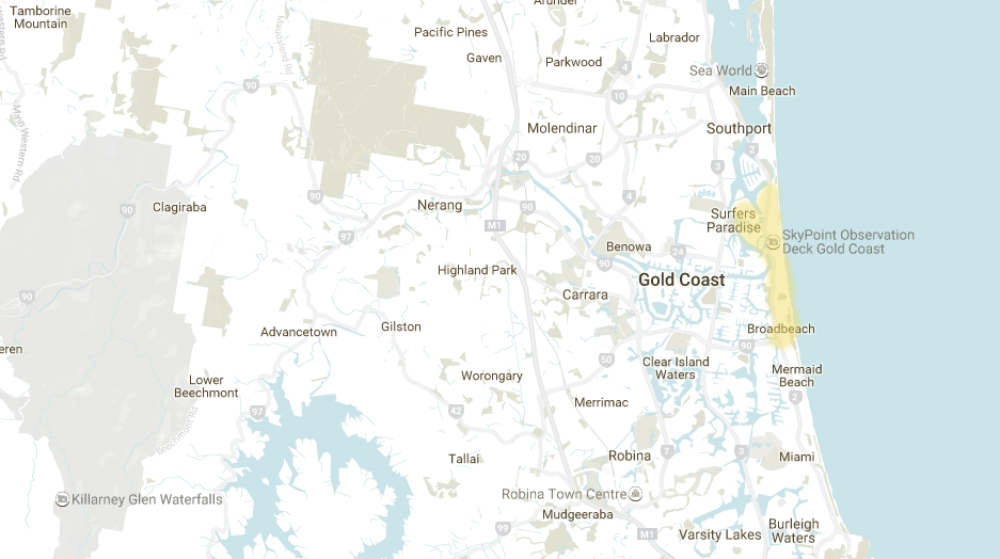 where to live on the gold coast