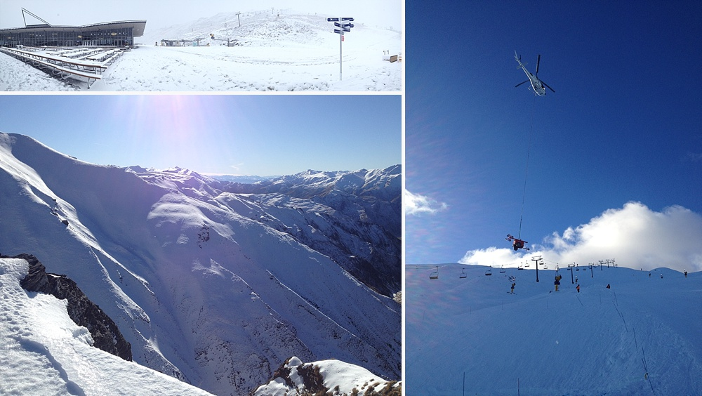 learning to snowboard in queenstown