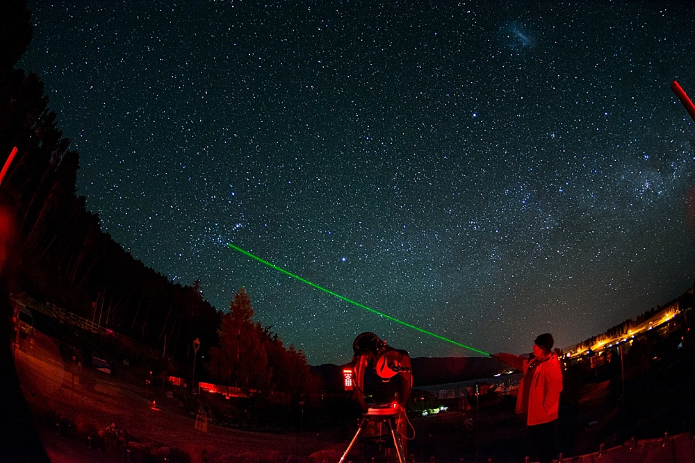 Stargazing in Lake Tekapo