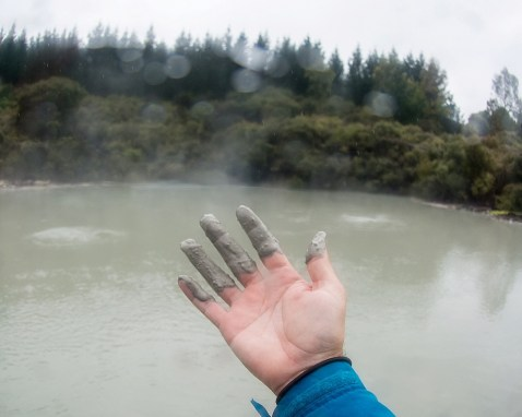 New Zealand's Only Geothermal Mud Bath