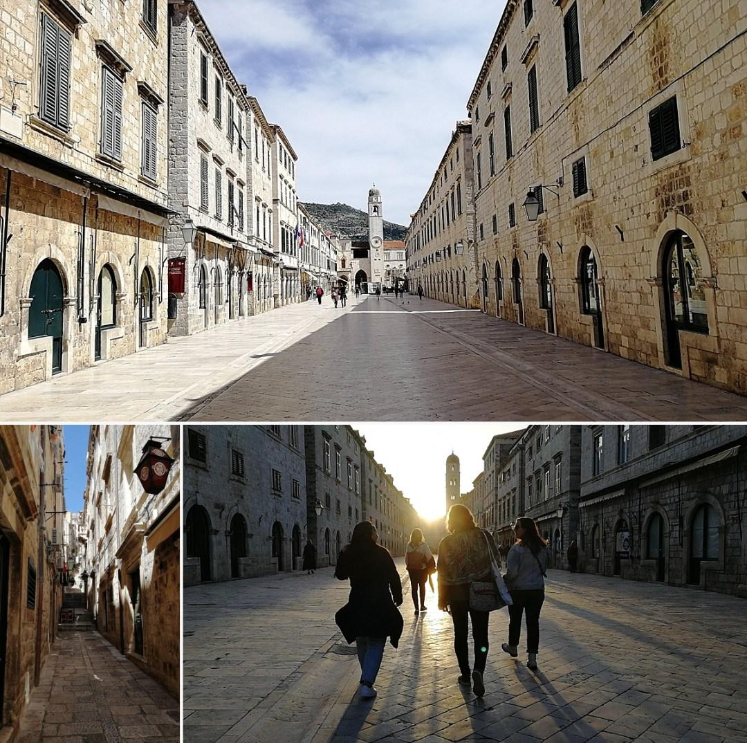 stradun old town dubrovnik croatia