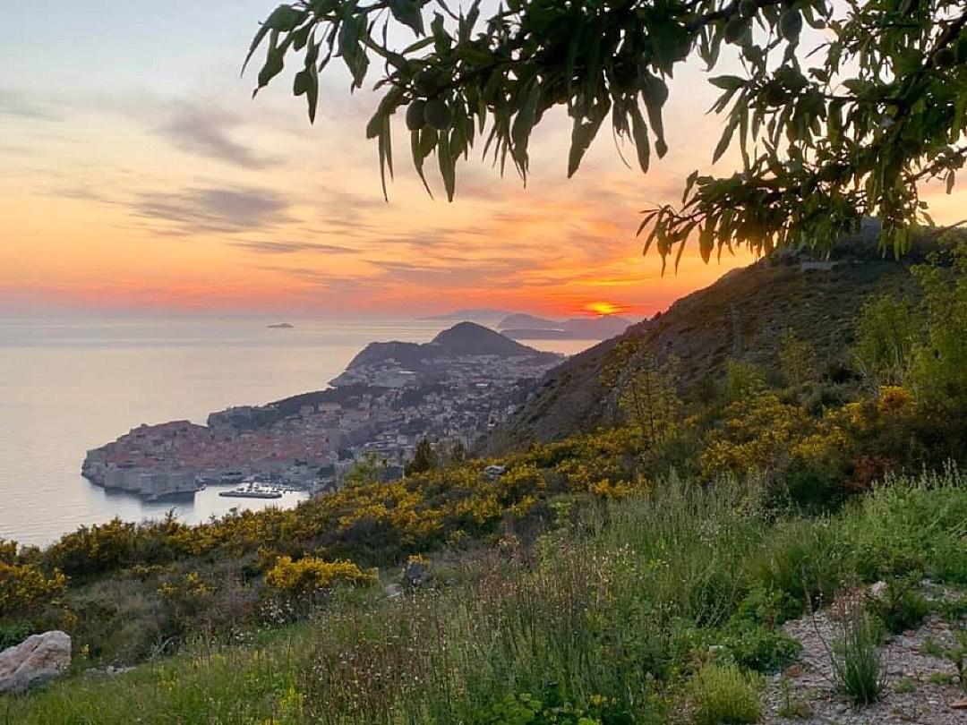 adriatic tours sunset dubrovnik