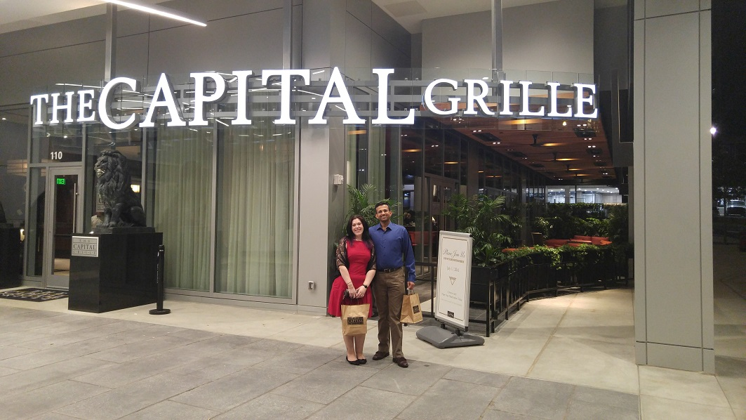Raleigh Restaurant: Capital Grille