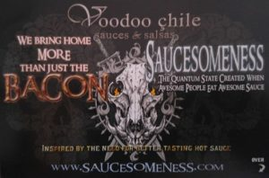 Voodoo Chile Hot Sauces - Saucesome!