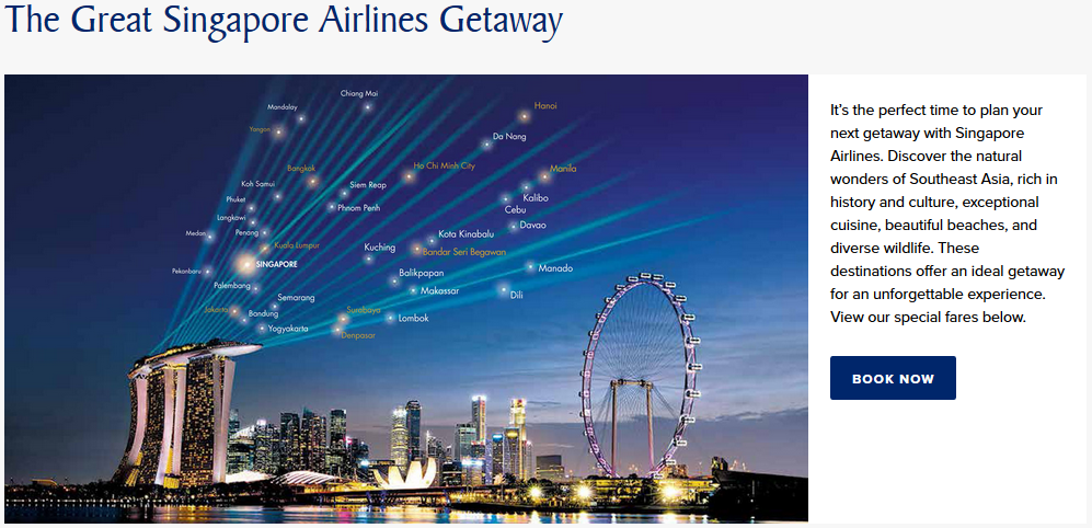 Another @SingaporeAir Sale!