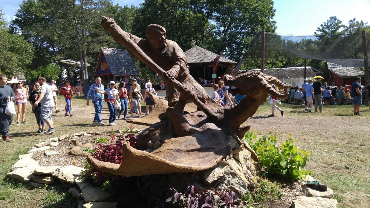Vacation Report: Kansas City, Renaissance Faire & Jack Stack BBQ