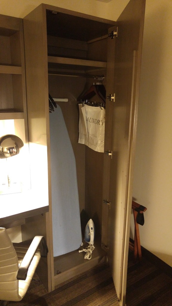 Closet with Full-Size Ironing Board