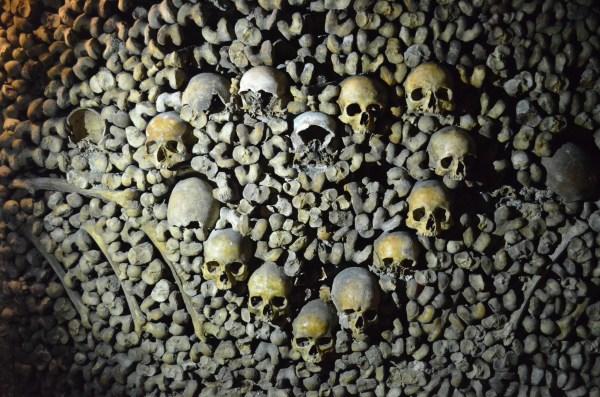Paris Catacombs Heart