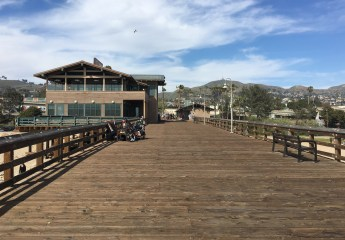 Ventura Pier - view, sea and seafood