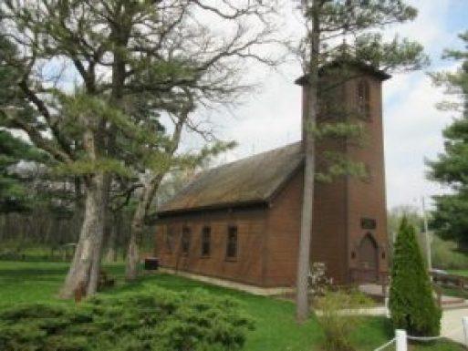 little brown church