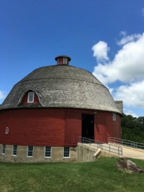 Ryan's beautiful round barn