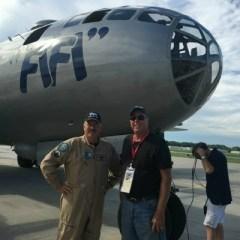 A Ride in a B29 Bomber, a dream come true