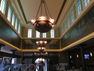 Popoli Ristorante, a jewel box bank turned restaurant