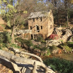 The Old Mill, a scene right out of Gone with the Wind