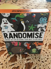Randomise, a game for travel or at home