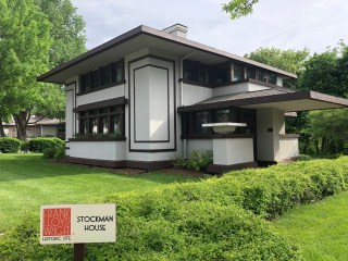 Designed by Frank Lloyd Wright