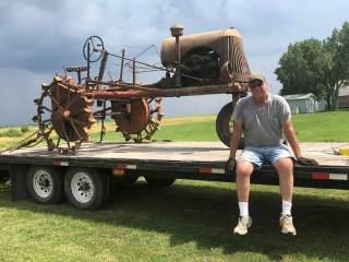 Mr. Farmer's Thieman comes home