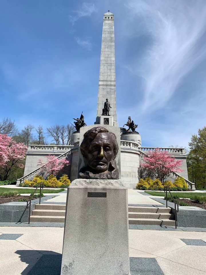 Lincoln's tomb.