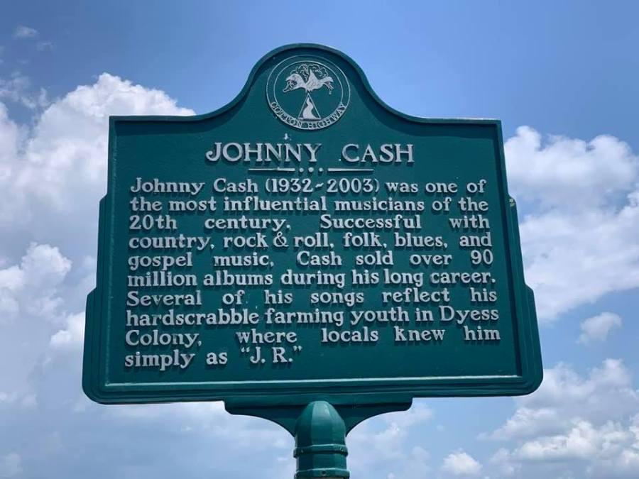Johnny Cash boyhood home