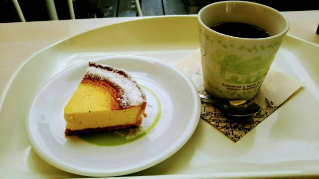 フラノデリスのチーズケーキ!