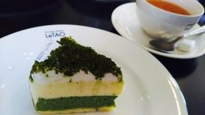 ルタオの抹茶ドゥーブルフロマージュ