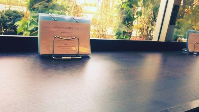札幌KANON PANCAKESのカウンター席